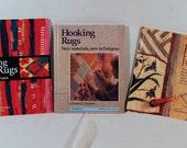 Rug Book Bonanza- three great how-to books