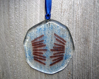 Mitosis Suncatcher, Mitosis Ornament, Cell Division, Biology Suncatcher, Science Art, Glass Ornament