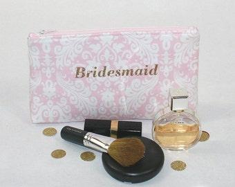 Wedding Day Kit Bag, Bridesmaid Bags, Wedding Shower Gift, Bridal Party Bag, Bridesmaids Gifts, Maid of Honor Bag, Bridesmaid Survival Kit