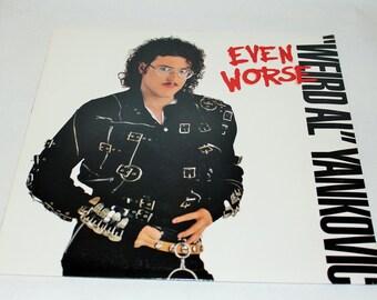 Weird Al Yankovic / Even Worse / Excellent Condition