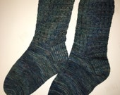 Socks Handknitted Wool Cashmere