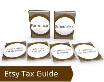 Etsy Tax Guide Bundle - ALL DIY Tax Resources - Etsy Tax Etsy Taxes on Etsy Etsy Sales Tax Etsy Tax ID Etsy Tax Forms, Selling on Etsy Taxes