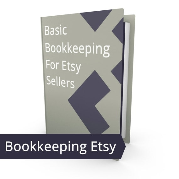Etsy Shop Basic Bookkeeping - Paper and Pencil System Book Keeping, Template Bookkeeping Sheets Small Business Accounting Income Expenditure