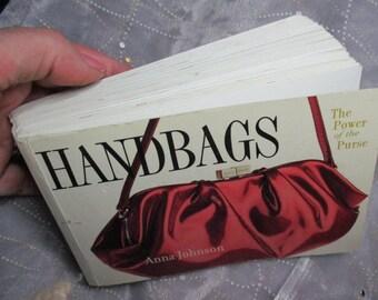 Vintage Handbag Purse Book History Reference Collector's Book Scrapbooking Paper craft