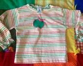 70s Apple Shirt 12/18 Months
