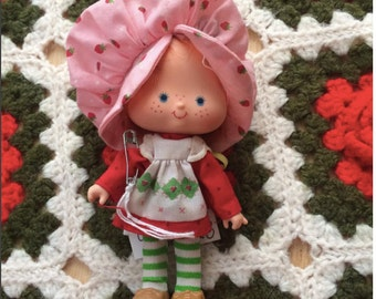 80s Strawberry Shortcake Doll