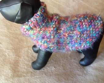 Many Colors  Chihuahua Dog Sweater.
