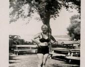 Vintage photo lot of 30 plus snapshots communion, picnic, swimming, family