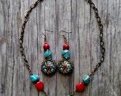 Custom Order for Shana Necklace and Earrings-Order for Shana only!