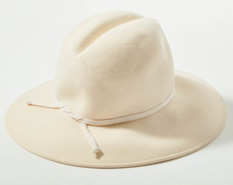 Vintage Jean Barthet Cream Hat