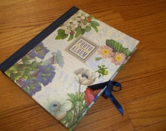 Photo Album ~ Victorian Floral Photo Album