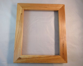 8x10 Spalted Yellow Birch Picture Frame SP2