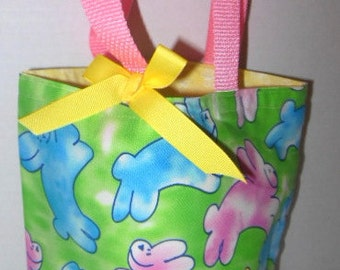 Easter  Bunnies Tote/Gift Bag