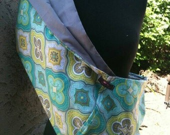 Baby Sling Carrier Sea Glass