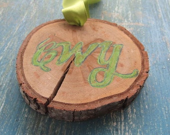 Rustic Cherokee Ornament- Green