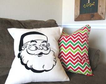 Santa Clause Pillow Cover
