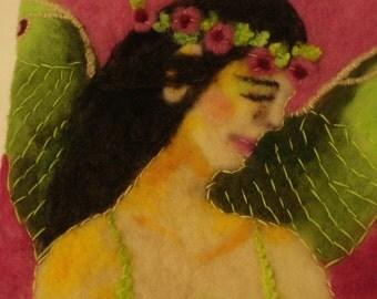 Fairy Art Needle Felting-LUNA