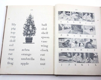 The See and Say Series Book One Vintage 1920s Children's School Reader or Text Book