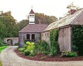 Irish Stables Ireland Photography Green And Gray Blarney Castle County Cork Office And Wall Decor Fine Art Print Irish Architecture
