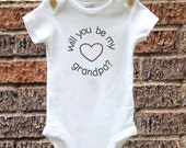 Pregnancy Announcement Baby Announcement Pregnancy Announcement to Grandparents Baby Reveal Newborn Baby Clothes Pregnancy Reveal