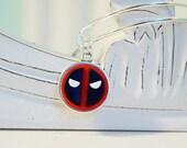 Deadpool Mask Adjustable Bangle Bracelet -  Alex & Ani Inspired Style