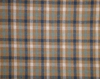Homespun Material | Check Material | Cotton Material | Primitive Material | Rag Quilt Material | Home Decor Material | 1 Yard