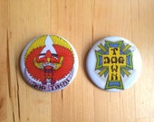 Set of 2 Dogtown Buttons!