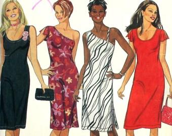 UNCUT One Shoulder Dress Bust 32 - 42 New Look 6144