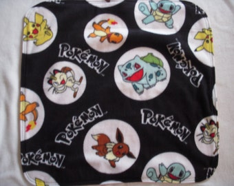 Pokemon Fleece Baby/Toddler/Nap Blanket