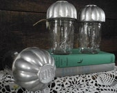 vintage tart tin Ball jar topper