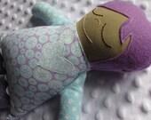 Lila Small Handmade Fabric Baby Doll