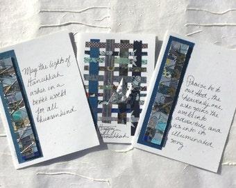 Handmade Hanukkah Cards,Happy Hanukkah Greetings,Greeting Cards Handmade,Chanukah Greeting Cards,Judaica,Jewish Blessing