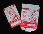 Vintage 50s Majorette Popcorn Boxes NOS Lot 2