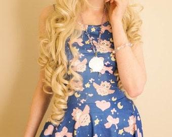 Luna the owl dress, Owl dress, Girly Hoot Dress