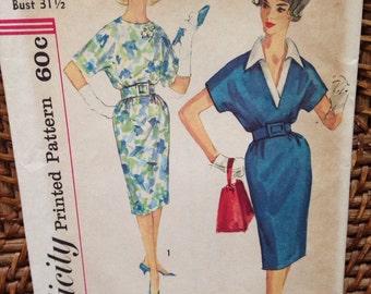 1960's Simplicity dress pattern