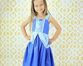 CINDERELLA  dress, Cindrella costume, toddler  Princess dress, practical princess dress, SALE  2/3t, 4/5t, 6/6X