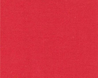 Bettys Red (9900 123) - Bella Solids fabric Moda Basics