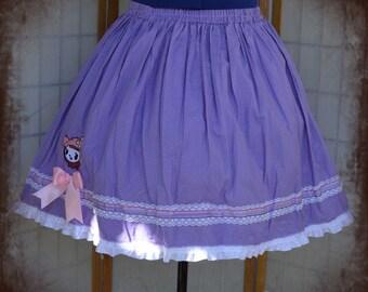 Purple tokidoki lolita skirt