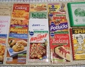 17 Various Small Cook & Crafty  Food Books