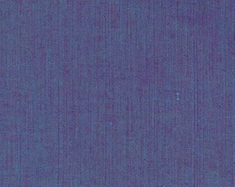 Kaffe Fassett SC88 Shot Cotton Blueberry Fabric By The Yard