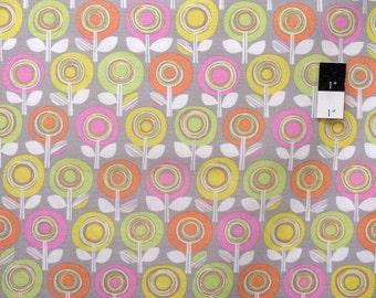 Erin McMorris PWEM066 Palermo Adela Smoke Cotton Fabric By The Yard