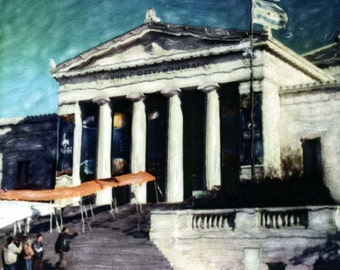 Shedd Aquarium Polaroid SX-70 Manipulation - 8x8 Fine Art Photograph, Wall Decor