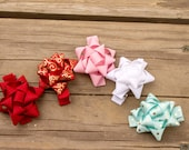 Mini Christmas Present Bow set