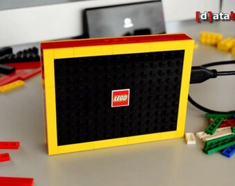 1 TB USB 3.0 Portable Hard Drive handmade with original Lego® Parts