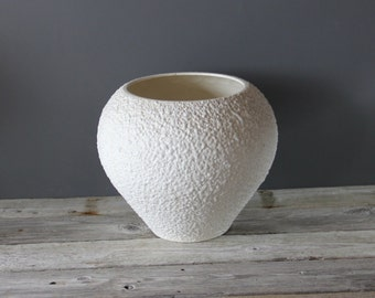 Giant Ceramic Textured Glaze Haeger Pottery Planter