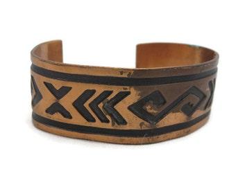 Copper Cuff Bracelet - Copper Jewelry