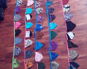 14 Yards of Scrap Fabric Bunting Banners SALE