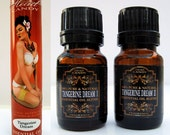 Tangerine Dream - essential oils - 2 bottle set - Aromatherapy