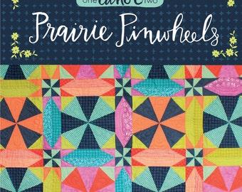 SALE // Prairie Pinwheels Quilt Pattern *PDF download* // 1canoe2