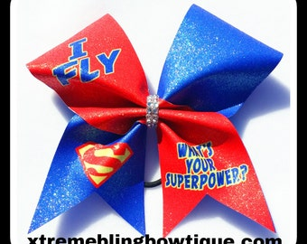 Cheer Bow-I Fly What's Your Superpower